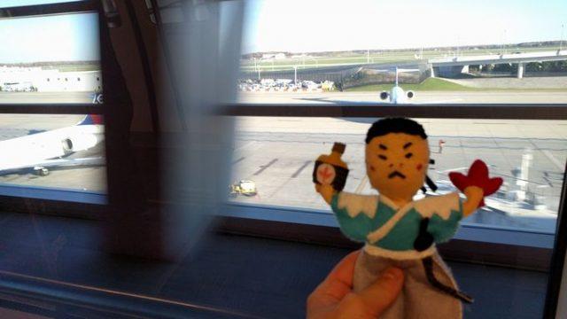 デトロイト空港にはエクスプレスが走ってる!