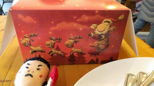 クリスマス仕様の箱