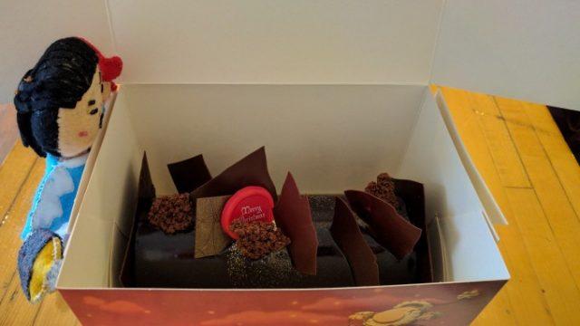 6人前のチョコケーキ