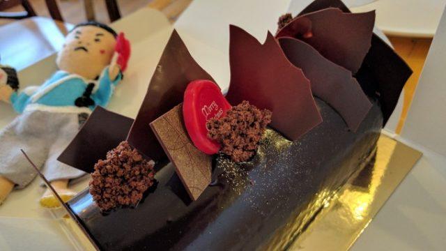 メリークリスマス! 日本式ケーキ屋Monkでチョコケーキをぺろりの画像です