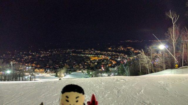 山の上からの眺め