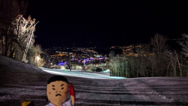 ブルーマウンテンへ!スキー・スノボをしにトロントからの旅の画像です