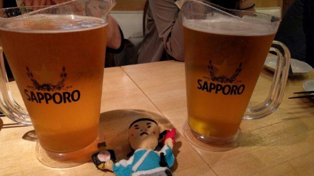 サッポロビールのピッチャー