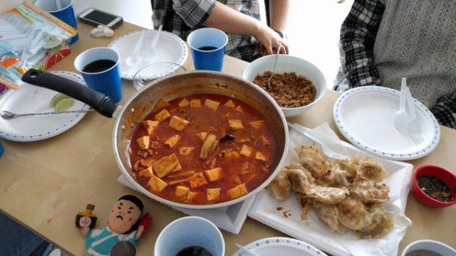 十八番の麻婆豆腐と謎の台湾料理