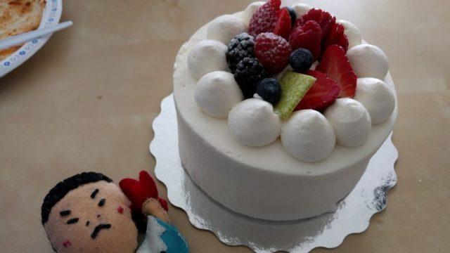 Mon Kのケーキも用意
