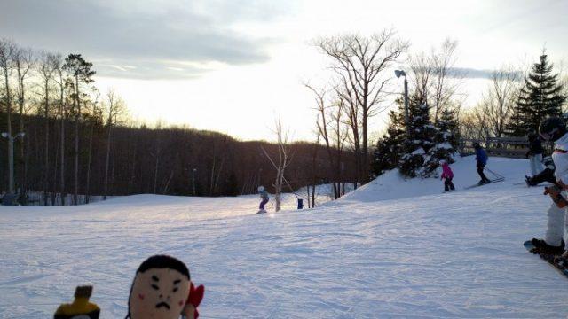 カナディアンとスノーバレーでスノーボード!の画像です