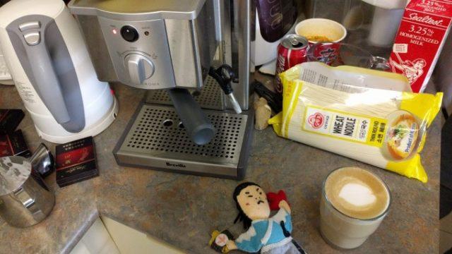 バリスタにコーヒーをいれてもらう