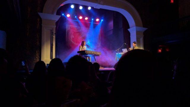 Vanessa Carltonのライブをトロントで観賞の画像です