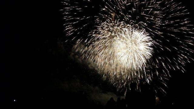 Victoria Dayでトロントにあがる花火がでっかい!の画像です