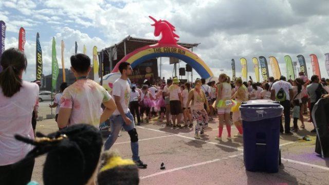 色まみれなマラソン大会
