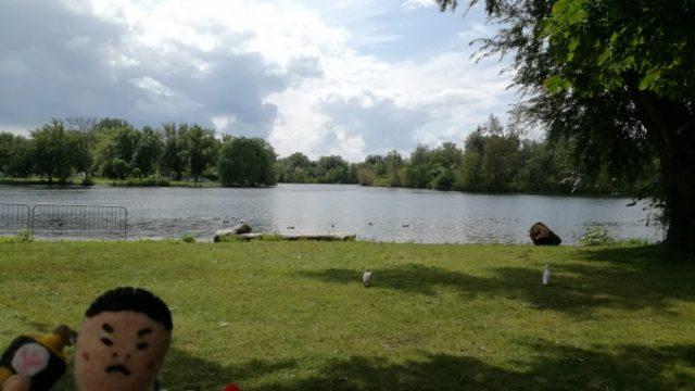 夏のトロントアイランドはのんびりできる素敵な公園だった!の画像です
