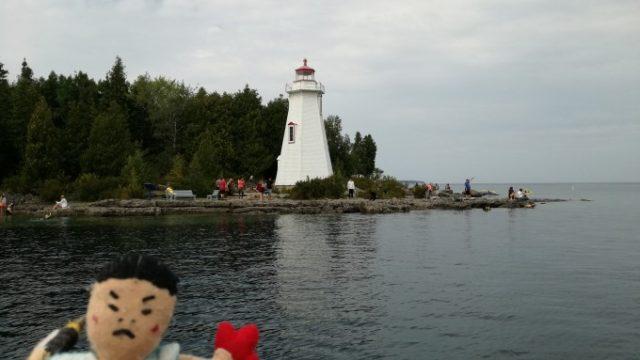 灯台も観光スポットの一つ
