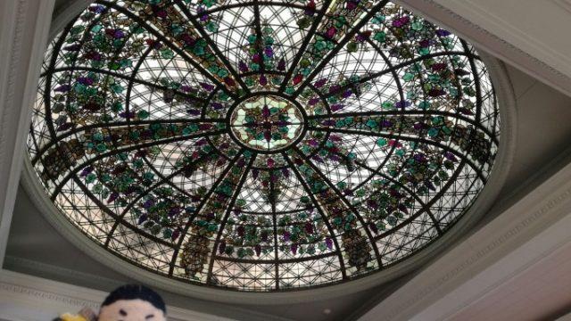 天井の装飾が凄い