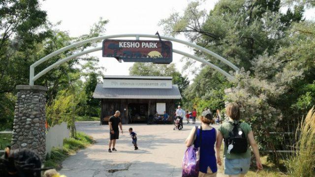 トロント動物園はエリアに分かれている