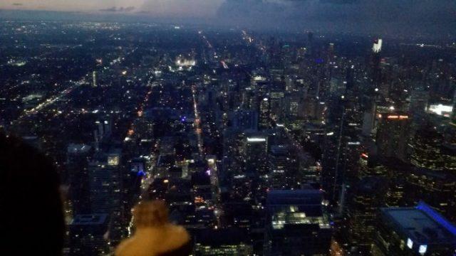 夜のトロントはまさに大都会