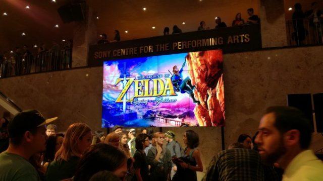 ゼルダの伝説コンサートを観にトロントのSony Centreへ!の画像です