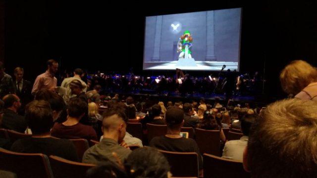 コンサートホールの様子