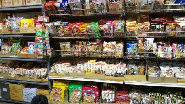 日本のお菓子が懐かしい