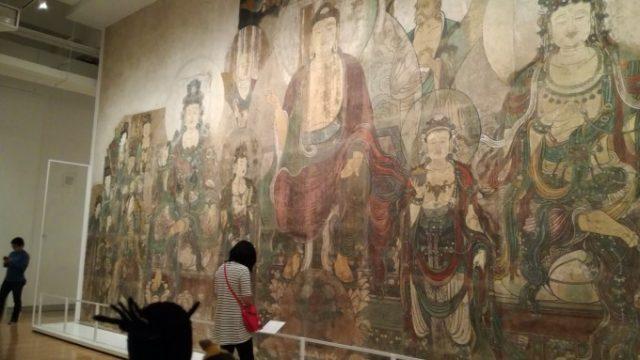 中国の巨大展示物