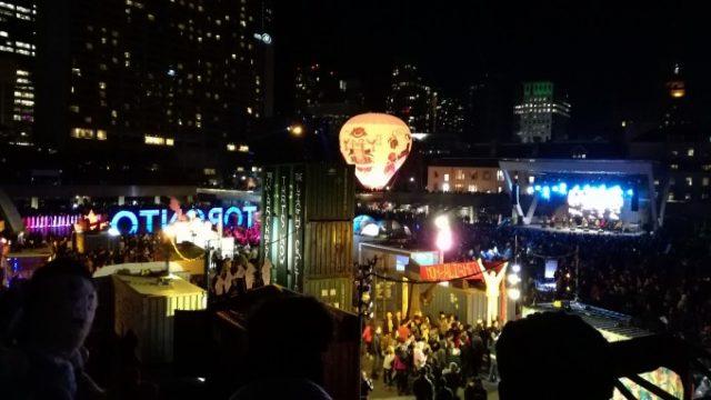夜通しアート祭りNUIT BLANCHE TORONTOの画像です
