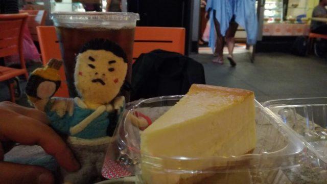 Junior'sのチーズケーキ