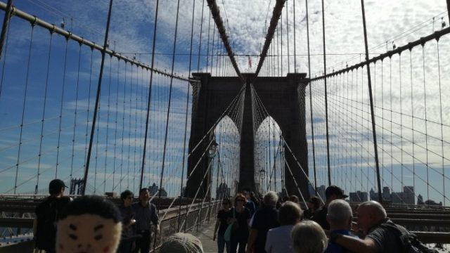 さぁ渡るぞブルックリン橋