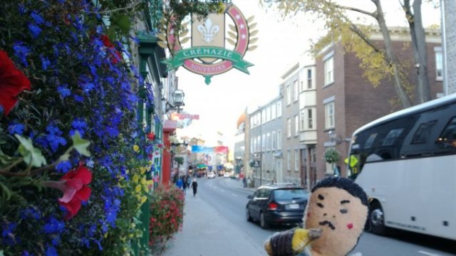 ケベックシティの街並み